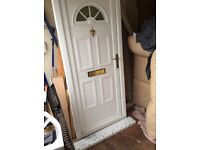 Upvc door with frame like new, could deliver