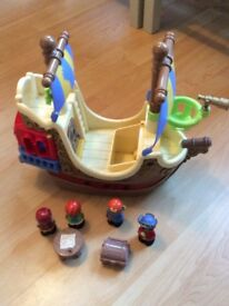 ELC Happyland pirate ship