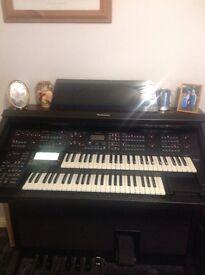 Technics GX5 Digital Organ.