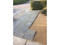 Marshall patio slabs