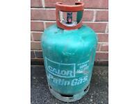 Empty calor gas patio gas bottle 13kg