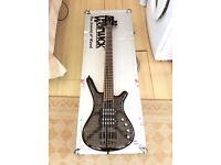 Warwick Corvette $$ NT 5 Nirvana Black 5 string bass