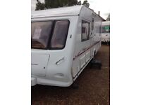 Elddis odyssey 534 2004 4 berth fixed bed