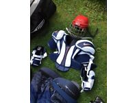 ROLLER HOCKEY KIT WITH BAG