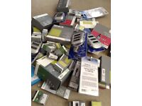Job lot of DVI Leads Scarts, Connectors Brand New Over 50 items Boxed