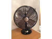 Stylish Retro Electric Fans- by Hunter with all original packaging