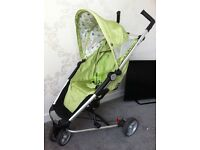 petite star zia 2 lime green buggy good cond, all clean