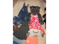 Bundle of girls next and river island clothes 5-6-7 years