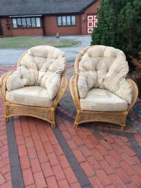 Conservatory chairs x 4