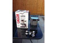 Gaggia Classic, espresso machine.