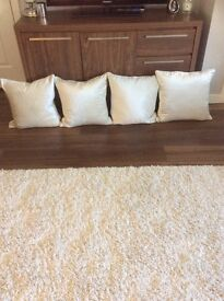 Laura Ashley nigella oyster feather filled cushions