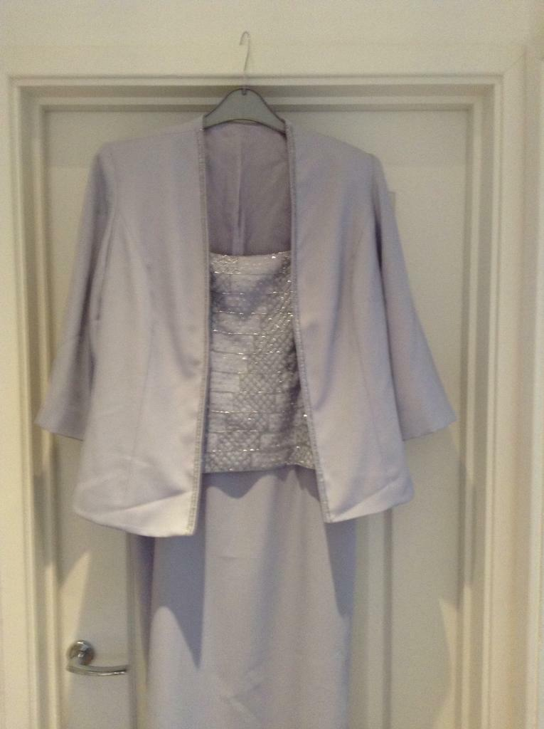 Wedding/Evening dress and jacket