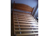 5ft pine bed