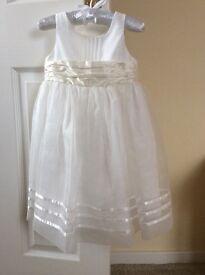 Next ecru sash bridesmaid dress in Ivory 12-18 months