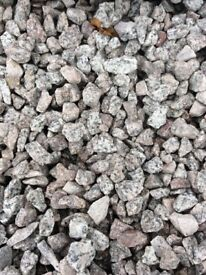 20 mm Dalbeattie granite garden and driveway chips / gravel