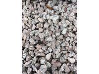 20 mm Dalbeattie granite garden and driveway chips / gravel