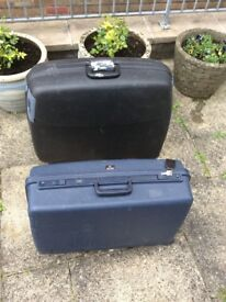 Delsey club deluxe and Equator suitcase