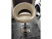 Cream kitchen bar stool