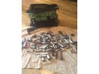 Snap on tool bag and miscellaneous tools