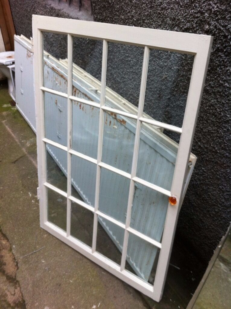 Stunning Edwardian internal 16 pane window