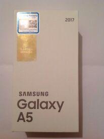 32GB New Samsung Galaxy A5 2017 - Black - Warranty - Dual SIM - SIM Free - Unlocked