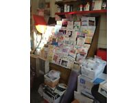 Shop equipment (shelving/fridge freezer/stand) BUY TO COLLECT ONLY