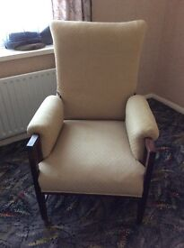 Fire side Arm chair