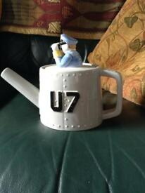 Novelty Submarine Tea pot excellent condition a wee bit of fun £20