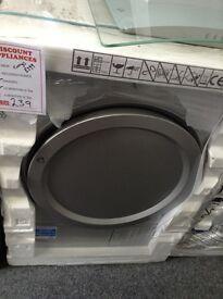 Beko silver dryer. RRP £299 12 month gtee