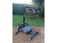 Powertec Levergym Squat Calf Machine (Delivery Available)
