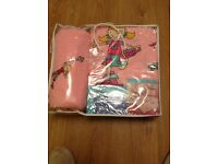 BRAND NEW GIRLS COMPLETE BEDDING SET - Single Bed