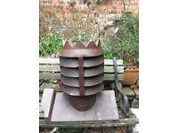 Reclaimed Antique salt glazed Crown chimney pot