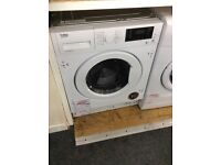 Beko intergrated washer dryer new graded 12 mth guarantee