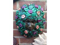 Moulds for green men faces