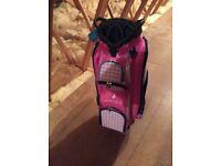 Green Lamb Ladies Golf Trolley Bag brand new