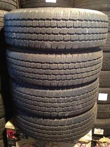4 pneus d'été 225/70 r16 Michelin ltx m/s .  250$