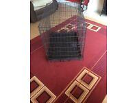"Medium size Dog Cage 30"" excellent condition"