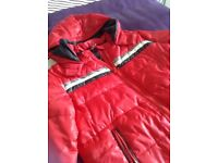 Boys red coat