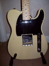 American Fender Special Telecaster. Vintage Blonde (As New.)