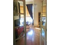 2 bed flat for house with garden