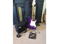 Electric guitar beginners bundle