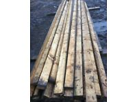 Timber spars 4x2