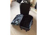 Suitcases black x2