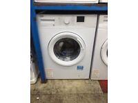 Beko 8kg 1200spin white washing machine. £189 new/graded 12 month Gtee