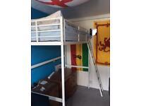 IKEA Tromsö single loft bed