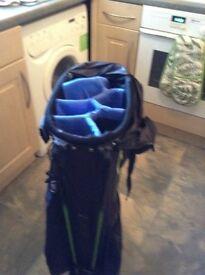 Callaway stand golf bag lightwheight used