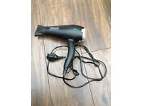 TRESemme hair dryer for sale. Rarely use, working condition.