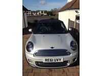 Mini Convertible Soho 1.6 Cooper £7,900 excellent condition low mileage, full service history Petrol