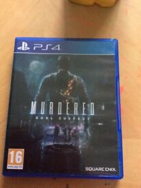 Playstation 4 Game Murdered Soul Suspect
