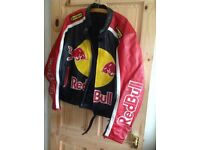 Redbull motorcycle leather jacket size L